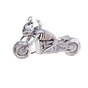 Creative-Fashion-Motor-Skull-Purse-Bag-Key-Ring-Rubber-Key-chain-xeCRUK