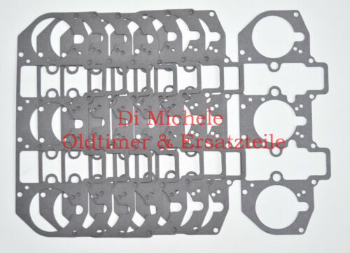 46 IDA Weber Vergaser Deckeldichtung 1-8 Stück ITP IDTP IL 40 IDA IF IDS