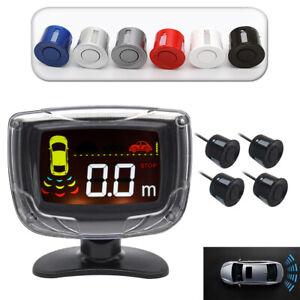 Car-Parking-Assistance-LED-Nice-Display-4-Sensors-Reverse-Backup-Radars-System