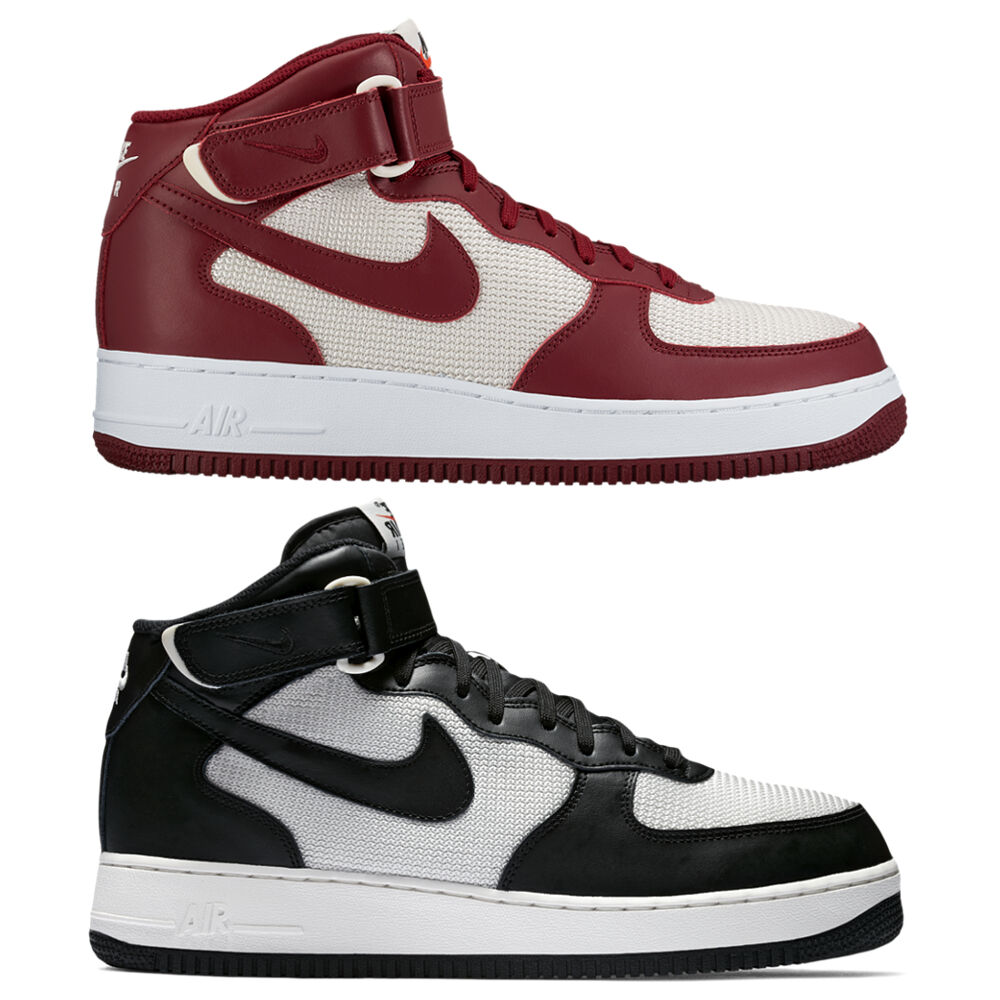 NIKE shoes MAN shoes  Air Force 1 Mid '07  NEW Sneakers NEW 2 Colours ON AG