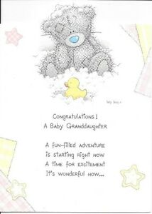 Carte Blanche Baptism Card Congratulations on your Baptism