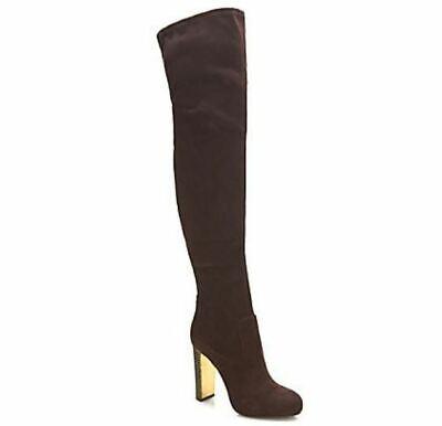 GUESS Damen Schuhe Stiefel Overknee Boots DOE VELOURS braun Gr 37 39 40 | eBay