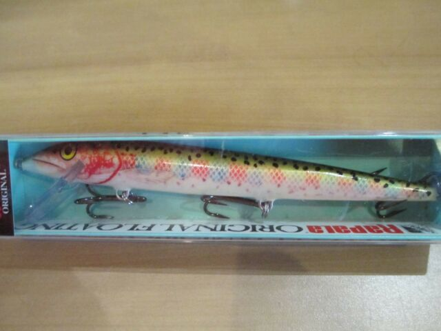 Rapala Original Floating F 13 RT rainbow trout NIB