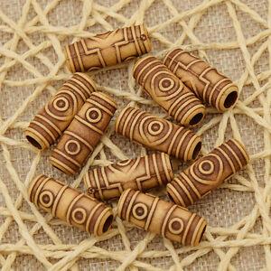 10-Pcs-Set-Acrylic-Dreadlock-Dread-Hair-Braid-Tube-Hair-Beads-Clip-Cuff-6mm-Hole