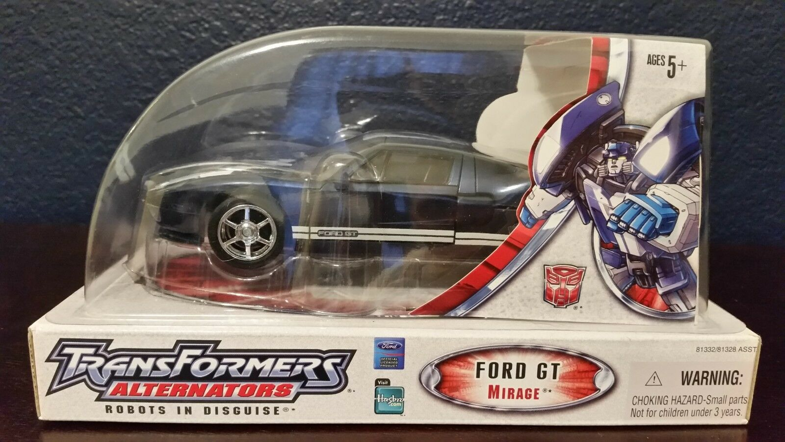 Transformers Alternators Ford GT Mirage Action Figure