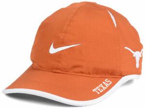 promo code 2fe6b 2cf3e Image is loading Texas-Longhorns-NEW-Nike-NCAA-Featherlight-Fashion-Cap-