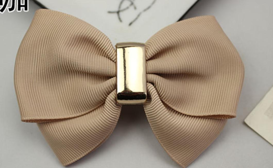2 Pcs Fashion Ribbon Bow Bowknot High Heel Shoe Clips Shoes Charms
