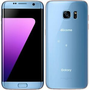 Details about SAMSUNG SC-02H SCV33 GALAXY S7 EDGE ANDROID PHONE UNLOCKED  BLUE NEW JAPAN VER
