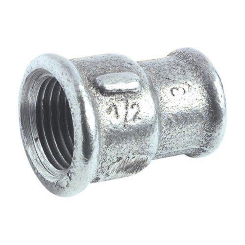 """Raccord Arrosage Pompe-22FF342700I Manchon Réduit GALVANISE Ø 1/""""x3//4/"""" FF"""