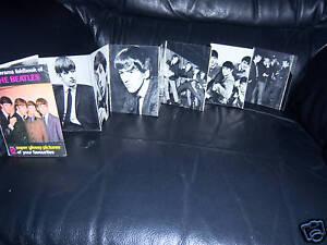 ORIGINAL1963-THE-BEATLES-PIXERAMA-12-BLACK-AND-WHITE-PICTURES-IN-BOOK