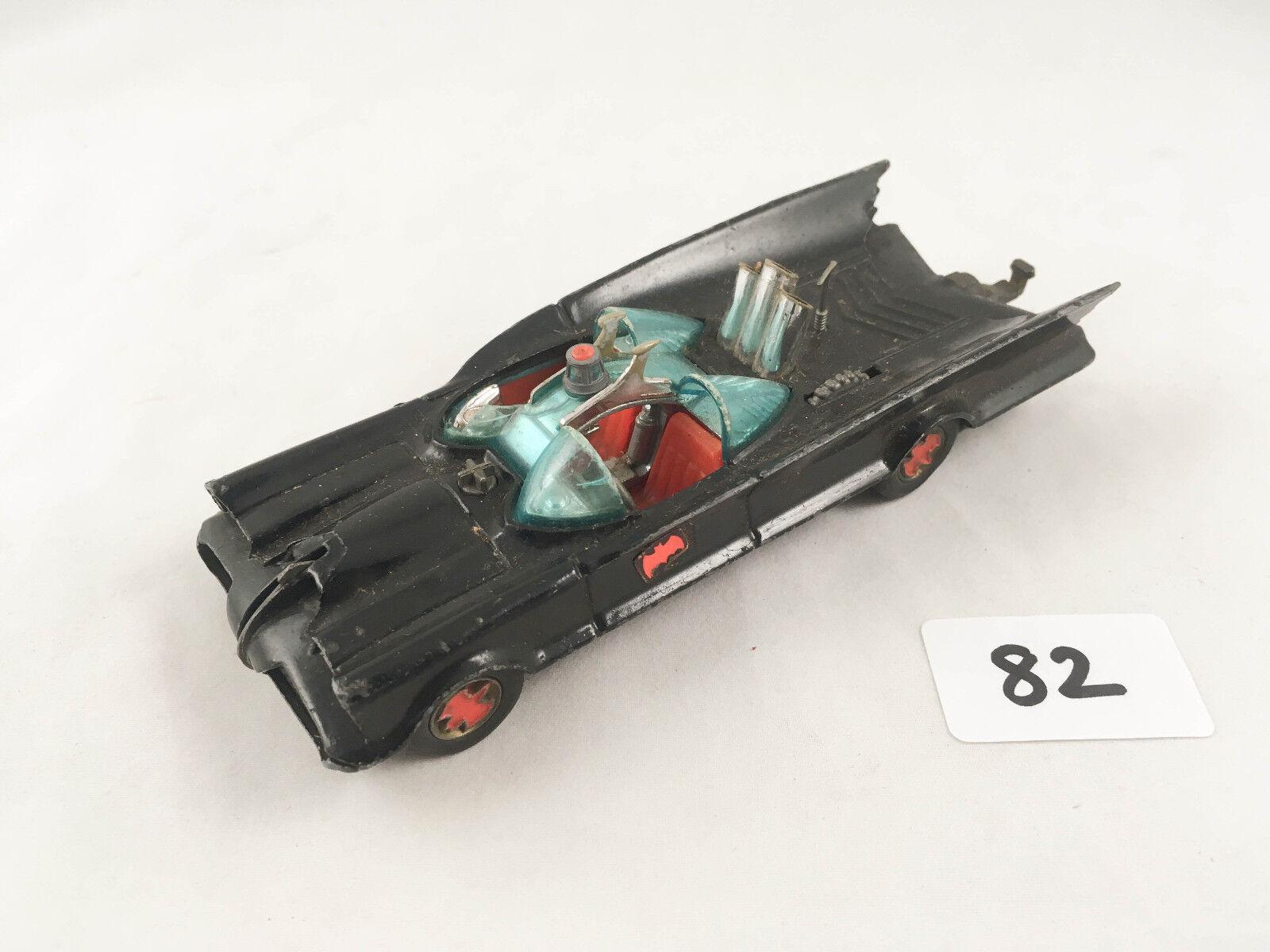 Super - seltenen 2. ausgabe vintage corgi spielzeug   267 batmobil 1966 batman druckguss - auto