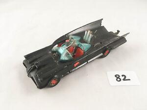 Super rare numéro 2 Vintage Corgi Toys # 267 Batmobile Batman Diecast Car 1966