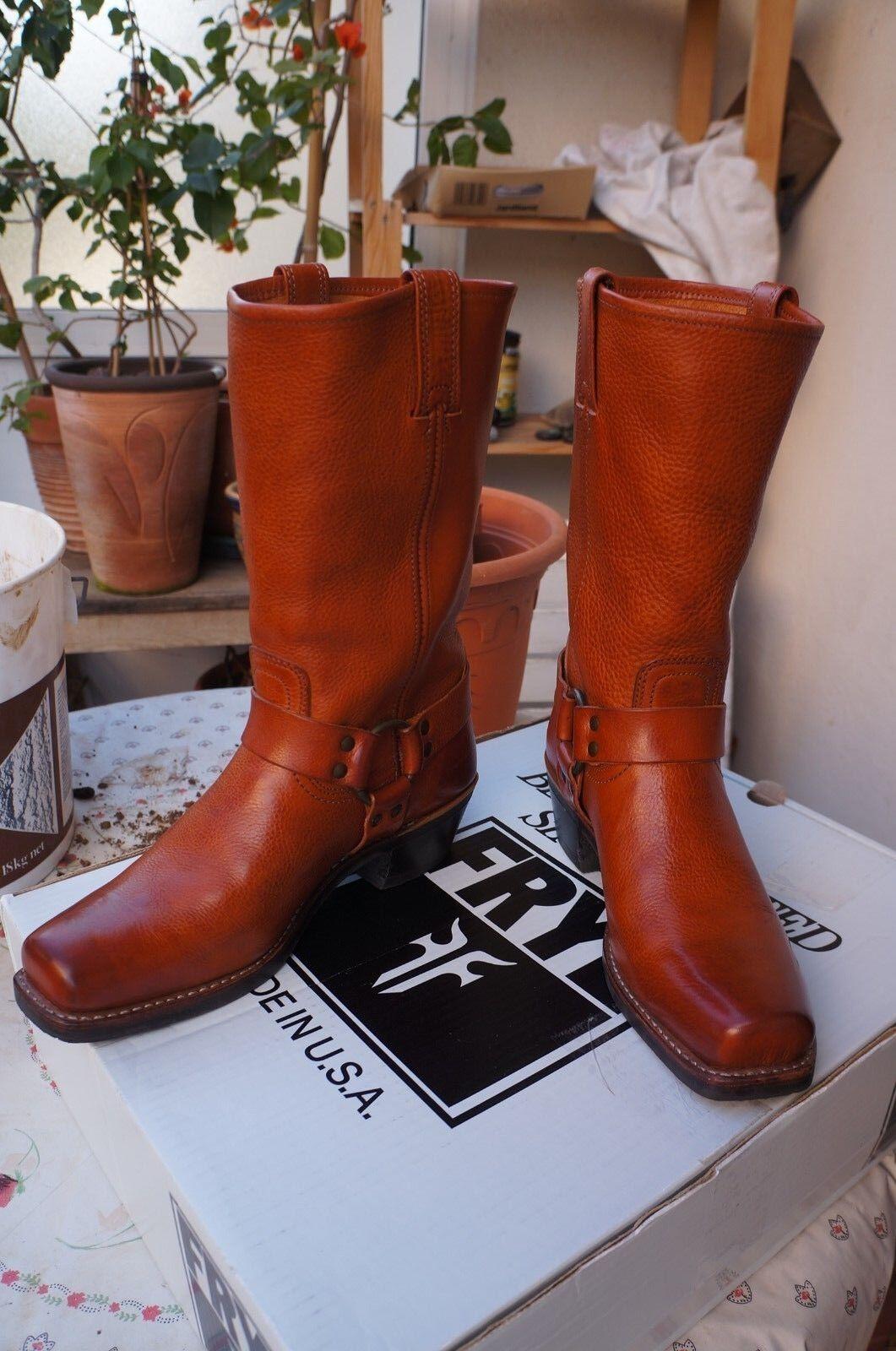 Frye Harness 12R, Blond, Boots femme, Jaune - Blond, 12R, 41.4 EU a39293