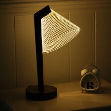 3D illusion Bulbing Night Desk Table Lamp LED Light (only US regular plug left)