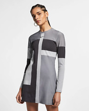 e88ccd5e5684 item 1 Nike Sportswear Tech Knit Women s Long-Sleeve Dress M Black Gray  Casual New -Nike Sportswear Tech Knit Women s Long-Sleeve Dress M Black  Gray Casual ...