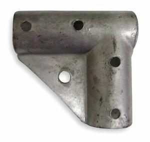 Zoro-Select-4Lvg9-Gate-Corner-Galv-Steel-Fits-1-5-8-In
