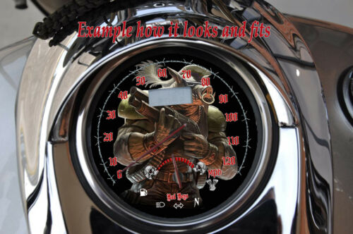 fits:1999-2007 Yamaha Road Star 1700 /& 1600 War Hogg  mph /& kmh