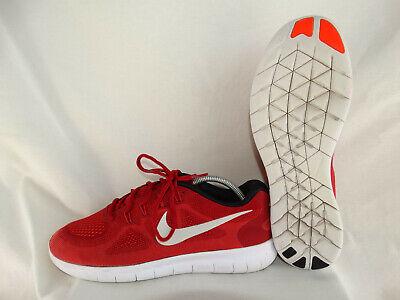Nike Free RN Laufschuhe Runner rot schwarz weiß Größe ca. EU