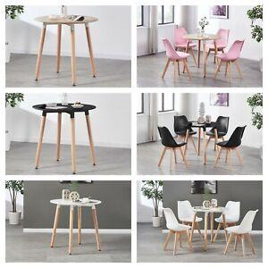 Jamie-Dining-Set-4-x-Jamie-Tulip-Dining-Chairs-amp-Halo-Round-Wood-Dining-Table
