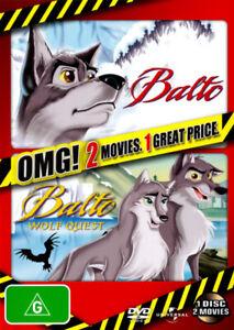 Balto-Balto-II-Wolf-Quest-DVD-NEW-Region-4-Australia