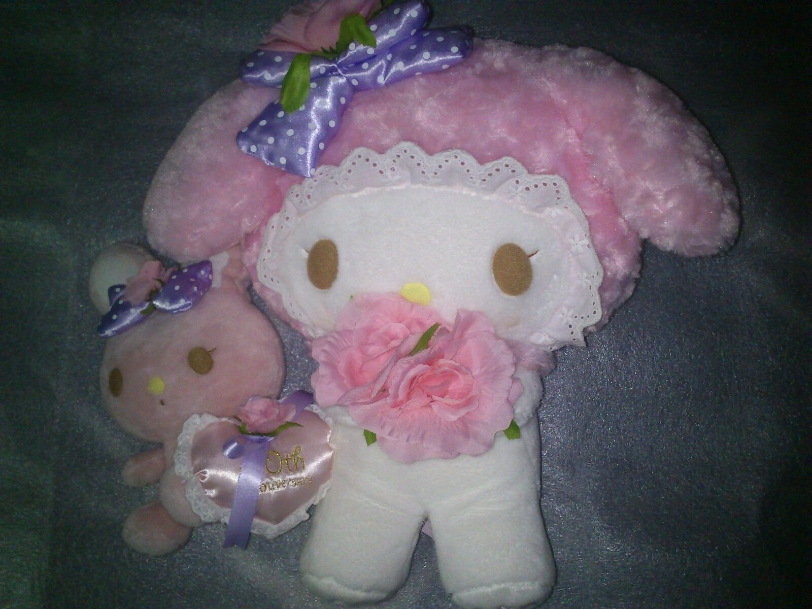 My Melody. Genuine Peluche 40 aniversario. Plush 40th aniversary. Nuevo. New.