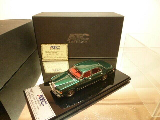 ATC - A TOP COLLECTOR  BENTLEY EIGHT 1986 - Grün 1 43 - NEAR MINT IN BOX