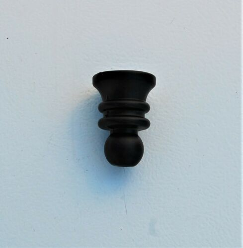 """HUNTER CEILING FAN NEW PARTS-3//8/"""" THREADED FINIAL//PULL CHAIN HOLE PREMIER BRONZE"""