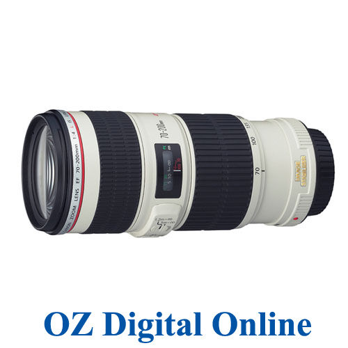 NEW Canon EF 70-200mm f/4L IS USM Lens F4L 70-200 mm f/4 L
