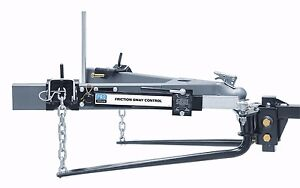 Reese Pro Series 49903 Round Bar Weight Distribution Hitch 1000lb W