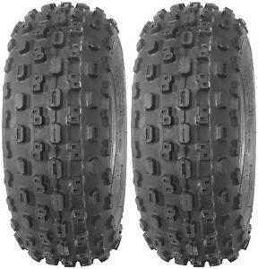 Pair 2 CST C867 22x8-10 ATV Tire Set 22x8x10 Knobby 22-8-10