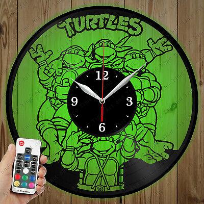 Details about  /LED Vinyl Clock Muscle Car LED Wall Art Decor Clock Original Gift 6542