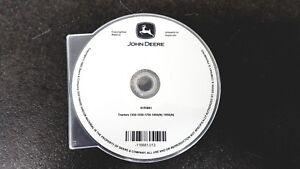 Werkstatthandbuch CD-Rom JOHN DEERE Traktor 1350 1550 1750 1850 1950