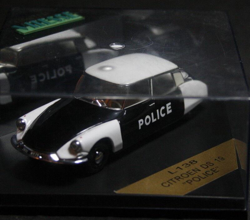 "Limited Edition Vitesse Model Collectors Car – Citroen DS 19 – ""Police"""