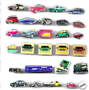 32 Stück  Mercedes Pins
