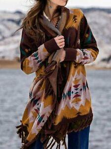 Women-Warm-Open-Front-Sweaters-Cardigan-Long-Sleeve-Printed-Tassel-Pockets-Coat