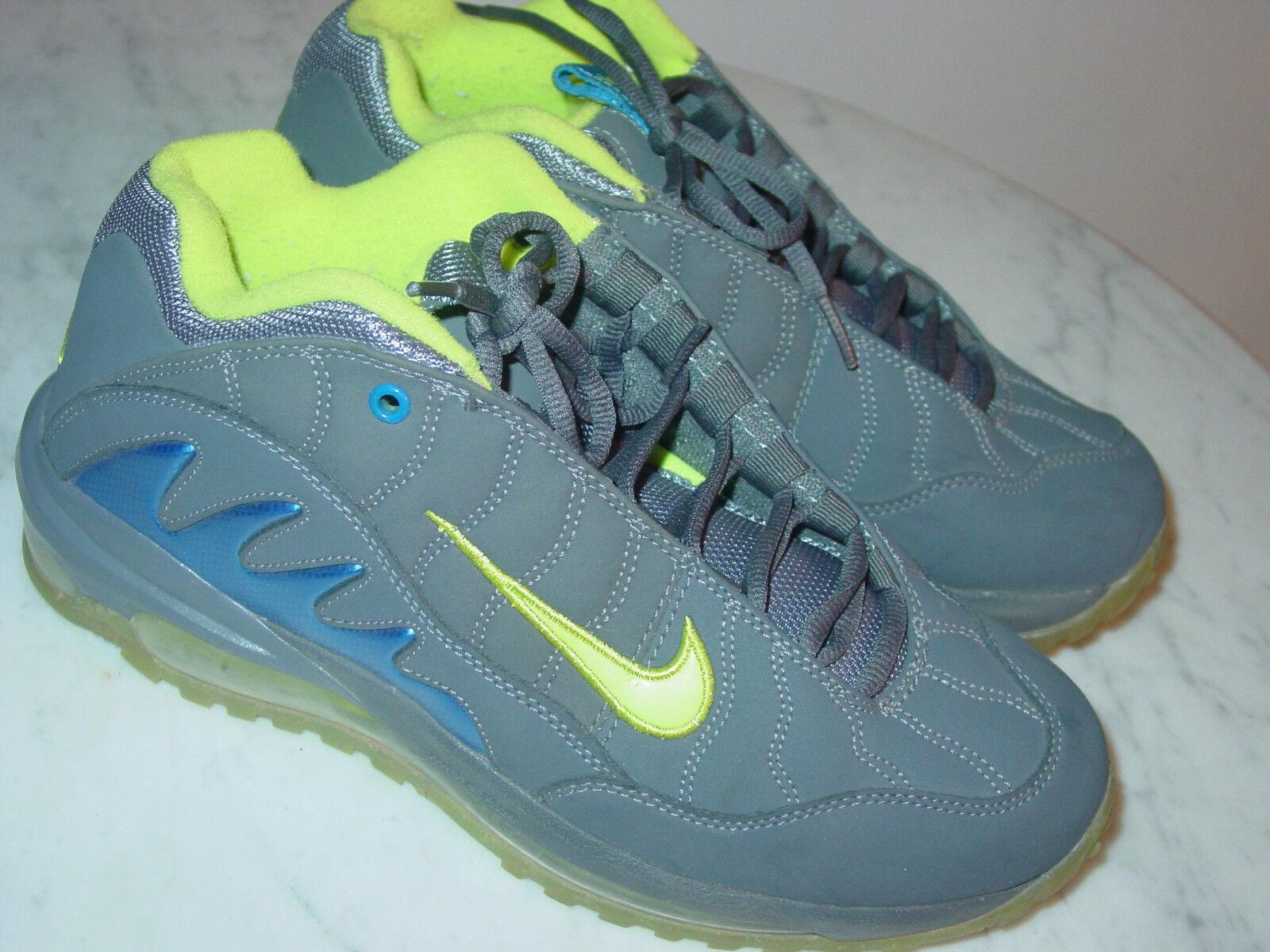 Nike Shox In Rivelano 3 Donne In Shox Esercizio Le   Nuove   Viola Gray Sz 8,5 0f07e6