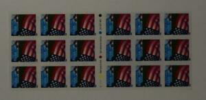 US SCOTT 3450a BOOKLET OF 18 FLAG OVER FARM STAMPS 34 CENT FACE MNH