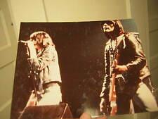 RAMONES 8X10 UNPUBLISHED ORIGINAL PRINT  8X10 1980 JOEY RAMONE DEE RAMONE