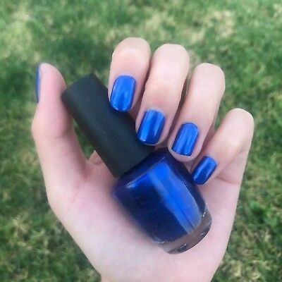 Opi Nail Polish Nl B24 Blue My Mind 20 Off When Buy 3 Ebay