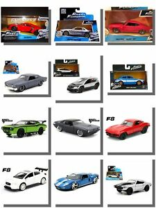 Fast-and-Furious-Model-Cars-Modello-Diecast-Auto