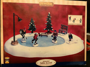 Lemax 94017 After School Hockey Match Christmas Winter Holidays Ebay