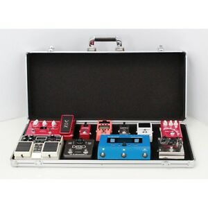 stagg upc 688 guitar effects pedal board protective flight carry case ebay. Black Bedroom Furniture Sets. Home Design Ideas