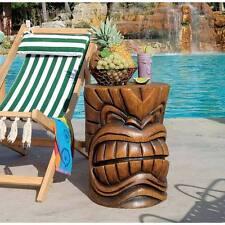 The Kanaloa Grand Tiki Sculptural Table Hawaiian Luau Island Yard Party Decor