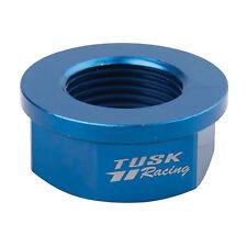 Tusk Nyloc Axle Nut M20 X 1.50 Blue for KTM 400 MXC 4 Stroke 2001-2002