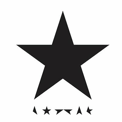 DAVID BOWIE BLACKSTAR CD ALBUM (Released January 8th 2016)