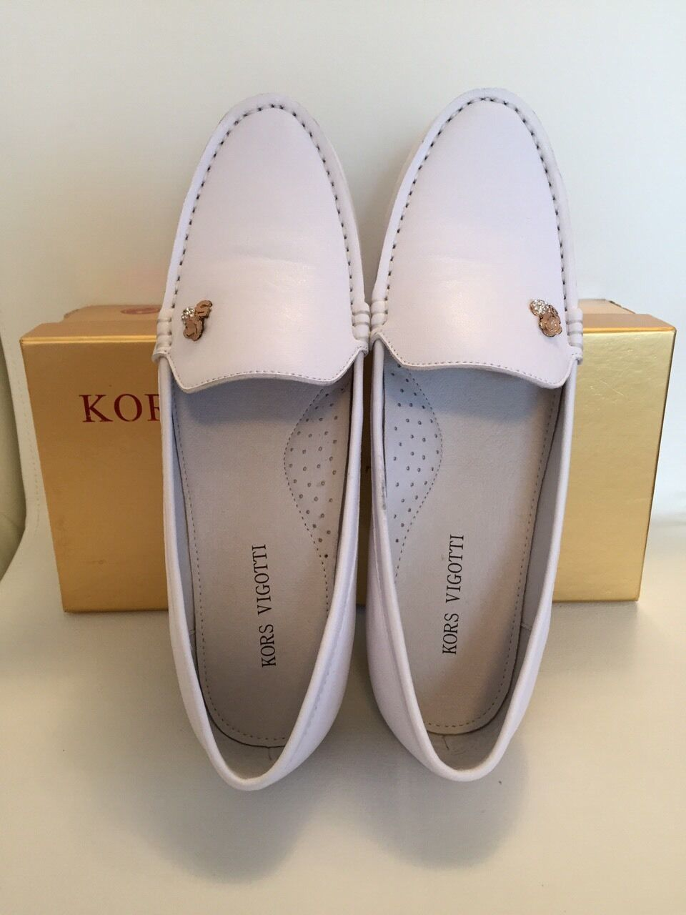 LEATHER  MOCCASINS FROM KORS VIGOTTI