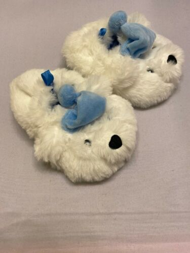 Prewalk Slippers Shoes Baby Toddlers White