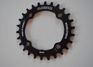 Black-Spire-Sprocket-Snaggletooth-Sram-26-Zahne-4-Hole-80-mm-Bolt-Circle