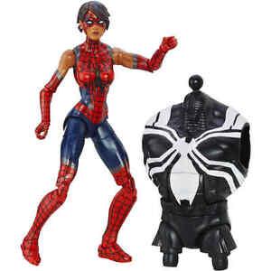 Marvel-Spider-Man-6-034-Legends-Series-Web-Slinging-Heroines-Spider-Girl-New-Toys