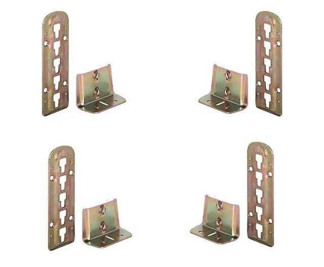 4 Sets HETTICH Bettbeschläge VariFix 4-fach höhenverstellbar Lattenrostauflage